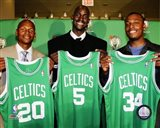 Ray Allen, Kevin Garnett and Paul Pierce 2007 Press Conference