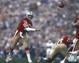 Joe Montana Super Bowl XIX 1985 Action