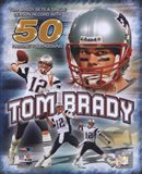 Tom Brady 50 TD's Portrait Plus