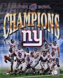 New York Giants 2007 Super Bowl XLII Champions Composite