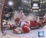 Chris Osgood in Game 6 of the 2008 NHL Stanley Cup Finals; Action #25