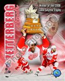 Henrik Zetterberg 2007-08 NHL Conn Smyth Trophy Winner Portrait Plus - your walls, your style!