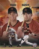 Craig Biggio and Jeff Bagwell Portrait Plus, 1999