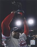 Ryan Howard with 2008 World Series Trophy