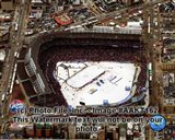Wrigley Field bird eye 2008-09 NHL Winter Classic - your walls, your style!