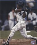Rickey Henderson  Pinstripe Batting