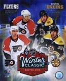 2010 NHL Winter Classic Matchup Composite - your walls, your style!