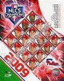 2009 Philadelphia Phillies National League Champions Team Composite