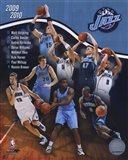2009-10 Utah Jazz Team Composite