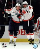 Alex Ovechkin & Nicklas Backstrom 2009-10 Action