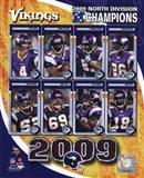 2009 Minnesota Vikings NFC West Divison Champions Composite