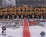 The Boston Bruins Team Photo 2010 NHL Winter Classic - your walls, your style!