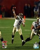 Drew Brees Super Bowl XLIV Action (#14)