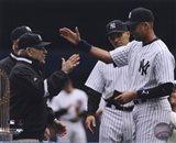 Yogi Berra, Derek Jeter, & Joe Girardi 2010 Yankees World Series Ring Ceremony