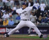 Trevor Hoffman 2010 Pitching Action
