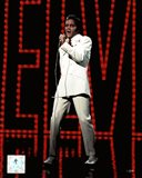 Elvis Presley Wearing White Suit (#5)