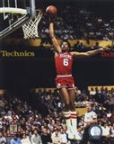Julius Erving Action