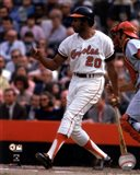 Frank Robinson 1970 World Series Action