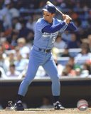 George Brett 1990 Action