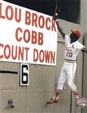 Lou Brock Action