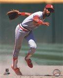 Ozzie Smith 1985 Action