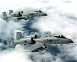 A-10 Thunderbolts United States Air Force