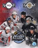 2011 NHL Winter Classic Matchup Composite - your walls, your style!