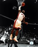 LeBron James 2010-11 Spotlight Action