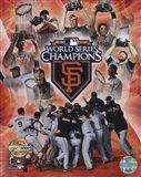 San Francisco Giants 2010 World Series Champions PF Gold