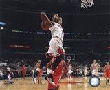 Derrick Rose 2010-11 dunking