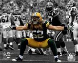 Clay Matthews 2010 Spotlight Action