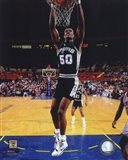 David Robinson 1990 Action