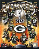 Green Bay Packers Super Bowl XLV Champions Composite (Vertical)