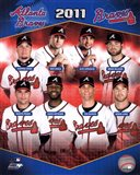 Atlanta Braves 2011 Team Composite