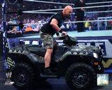 Stone Cold Steve Austin WrestleMania XXVII Action
