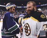 Tim Thomas & Roberto Luongo Game 7 of the 2011 NHL Stanley Cup Finals(#59) - your walls, your style!