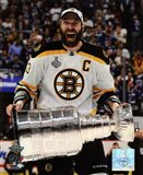 Zdeno Chara with the Stanley Cup  Game 7 of the 2011 NHL Stanley Cup Finals(#42) - your walls, your style!