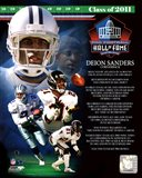 Deion Sanders 2011 Hall of Fame Composite