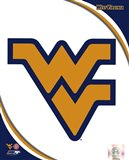 West Virginia University Mountaineers Team Logo