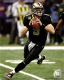 Drew Brees 2011 NFC Wild Card Playoff Action