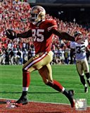 Vernon Davis Touchdown Catch NFC Divisional Playoff Game Action