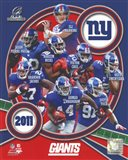 New York Giants 2011 NFC Champions Team Composite
