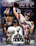 Eli Manning Super Bowl XLVI MVP Composite