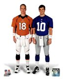 Peyton Manning & Eli Manning 2012 Posed