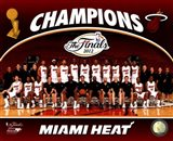 Miami Heat 2012 NBA Champions Team Photo