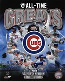 Chicago Cubs All Time Greats Composite