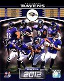 Baltimore Ravens 2012 Team Composite
