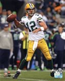 Aaron Rodgers 2012 Action shot