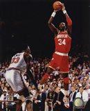 Hakeem Olajuwon Game 4 of the 1994 NBA Finals Action