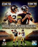 Ben Roethlisberger Pittsburgh Steelers All-time Passing Leader Composite